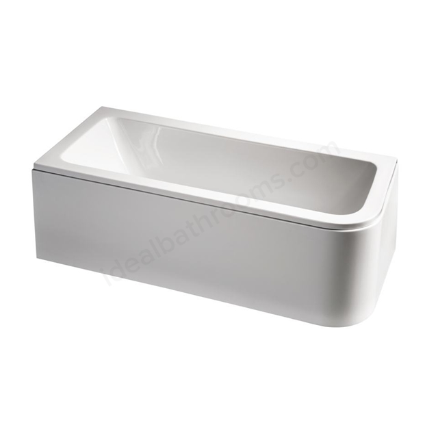 Ideal Standard Concept 170 X 75Cm Asymmetric Bath LH - No Tapholes