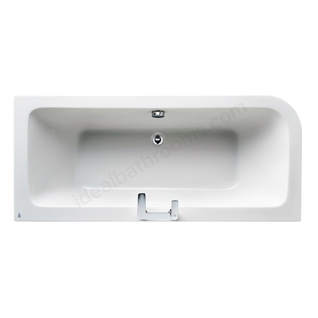 Ideal Standard Concept 170 X 75Cm Asymmetric Bath RH - No Tapholes