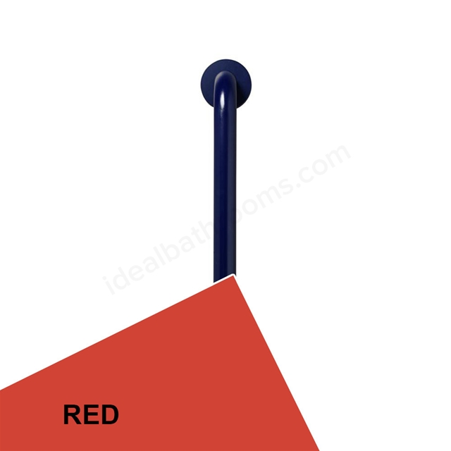 Ideal Standard Contour 21 45cm straight grab rail - Red