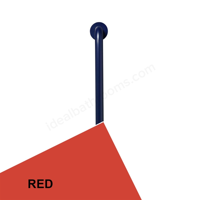 Ideal Standard Contour 21 60cm straight grab rail - Red