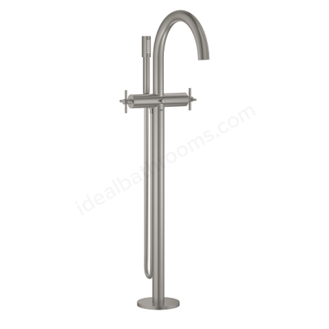 Grohe Atrio 2 Handle Floor Mounting Bath Mixer