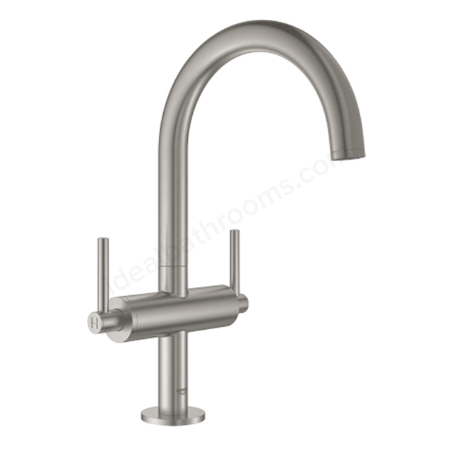 Grohe Atrio 1 Hole 2 Handle Basin Mixer