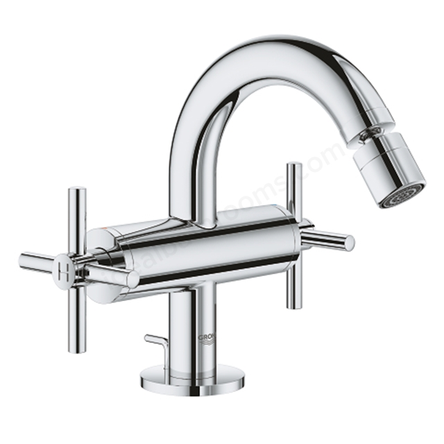 Grohe Atrio 1 Hole 2 Handle Bidet Mixer