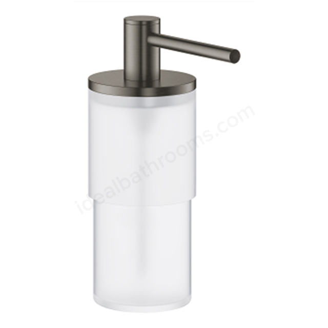 GROHE ATRIO SOAP DISPENSER BRUSHED HARD