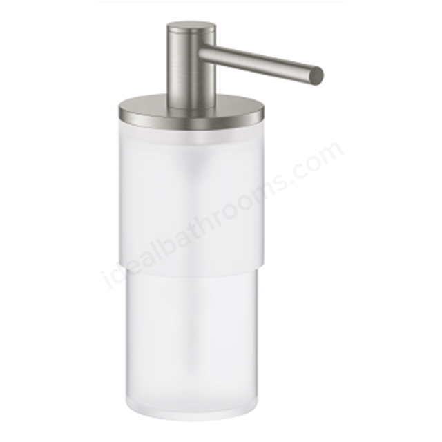 GROHE ATRIO SOAP DISPENSER SUPERSTEEL