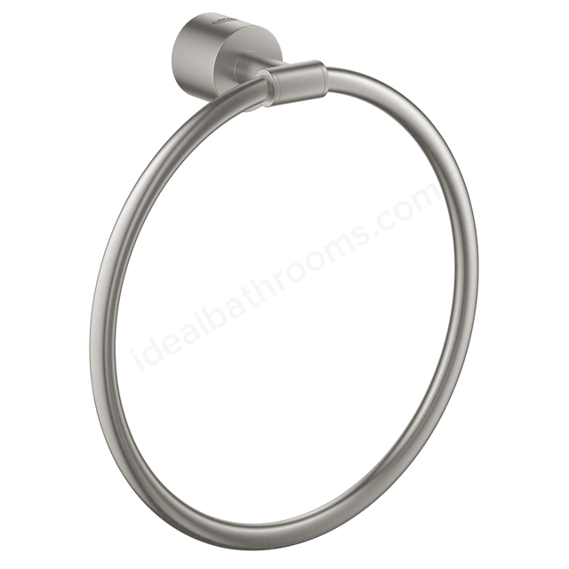 GROHE ATRIO TOWEL RING SUPERSTEEL