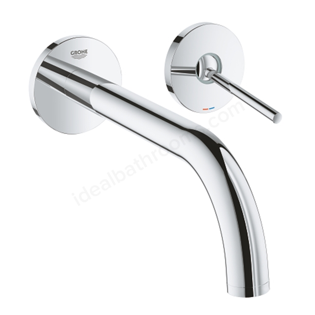Grohe Atrio 2 Hole Wall Mount Basin Mixer 19918003 - Chrome