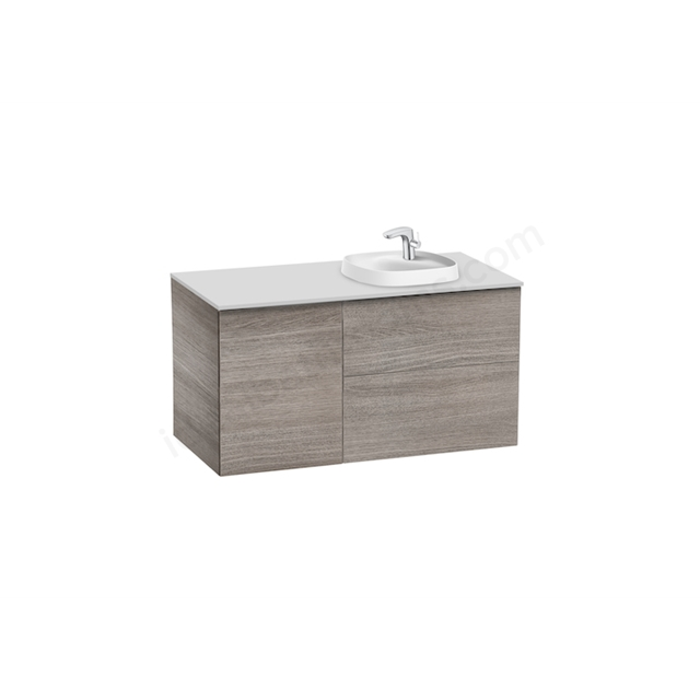 Roca Pack Beyond  1000Mm Si 420 Right City Oak
