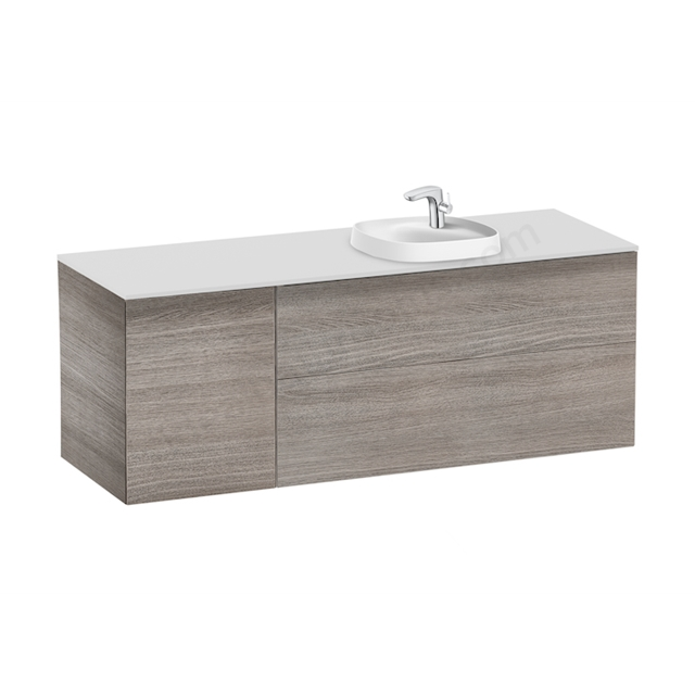 Roca Pack Beyond  1400Mm Si 420 Right City Oak