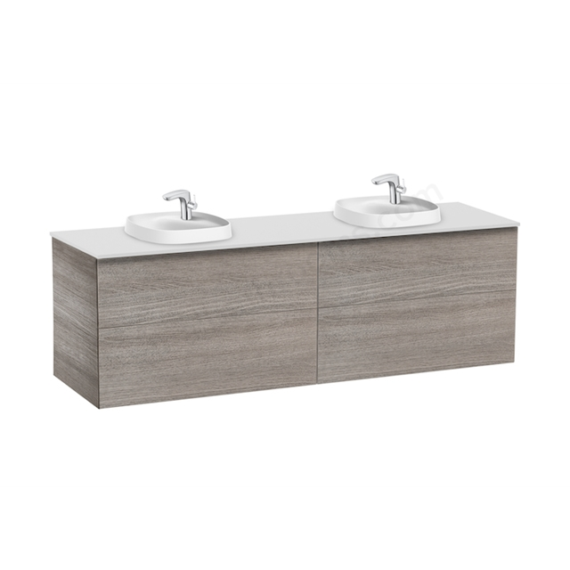 Roca Pack Beyond  1600Mm Si 420 Double City Oak