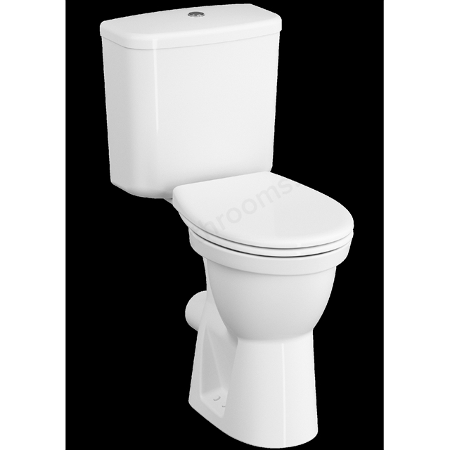 VitrA Milton Comfort Height; Close-Coupled WC Pan