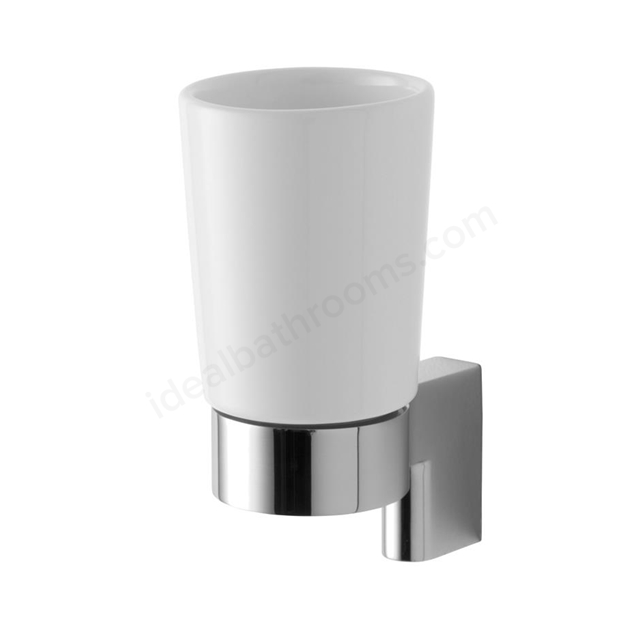Ideal Standard CONNCT/CONCPT TUMBLER CHR CERAMIC & HLDR