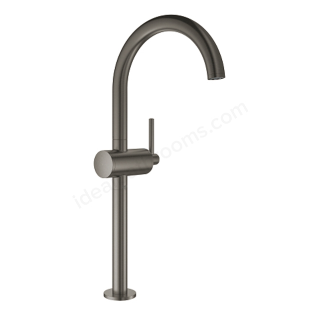 Grohe Atrio Single Lever Basin Mixer 32647AL3 - Brushed Hard Graphite