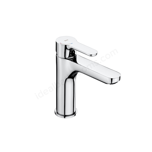 Roca L20 Medium Height Basin Mixer With Smooth Body