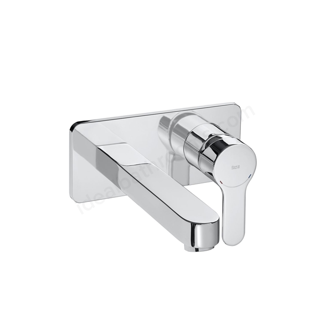 Roca L20 Wall-Mounted Basin Mixer