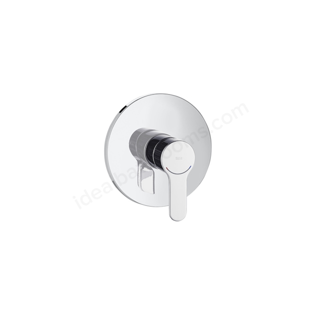 Roca L20 built-in bath or shower mixer - 1 outlet