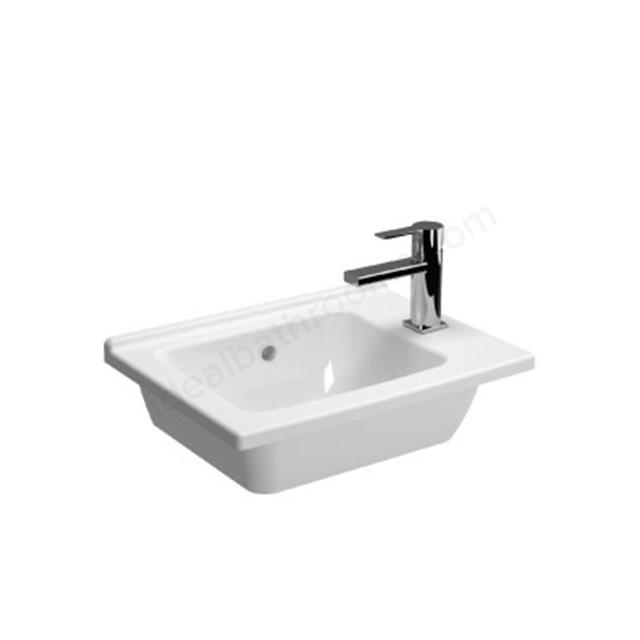 Vitra S50 Compact Right Vanity Basin