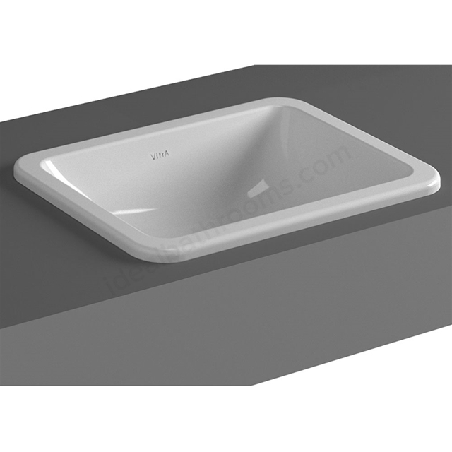 Vitra S20 450mm Washbasin 0 Tap Holes
