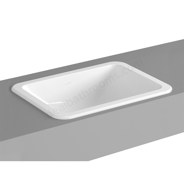 Vitra S20 500mm Washbasin 0 Tap Holes