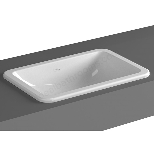 Vitra S20 550mm Washbasin 0 Tap Holes