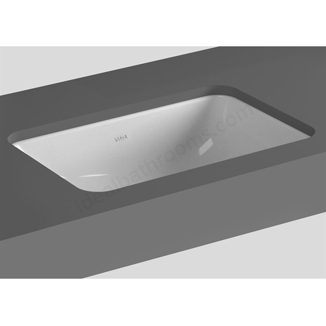 Vitra S20 380mm Washbasin 0 Tap Holes