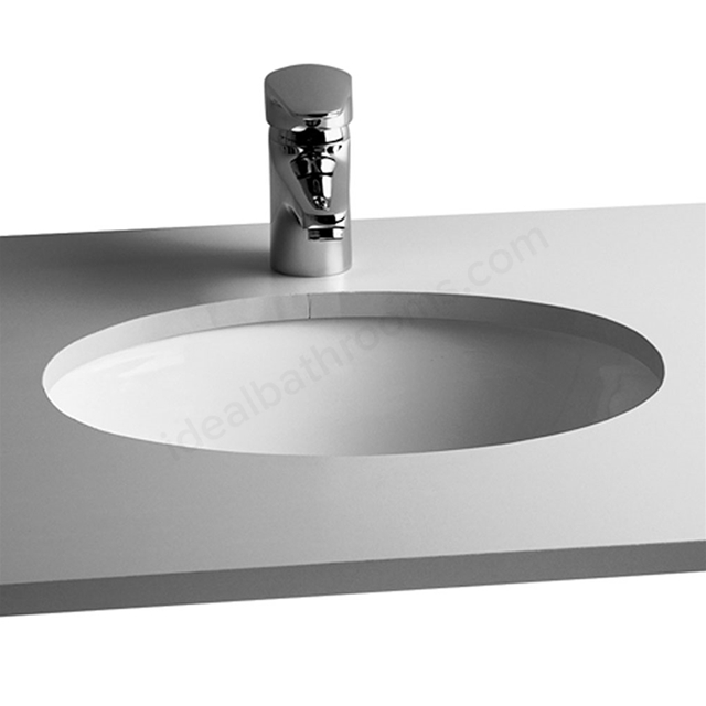 Vitra S20 420mm Washbasin 0 Tap Holes