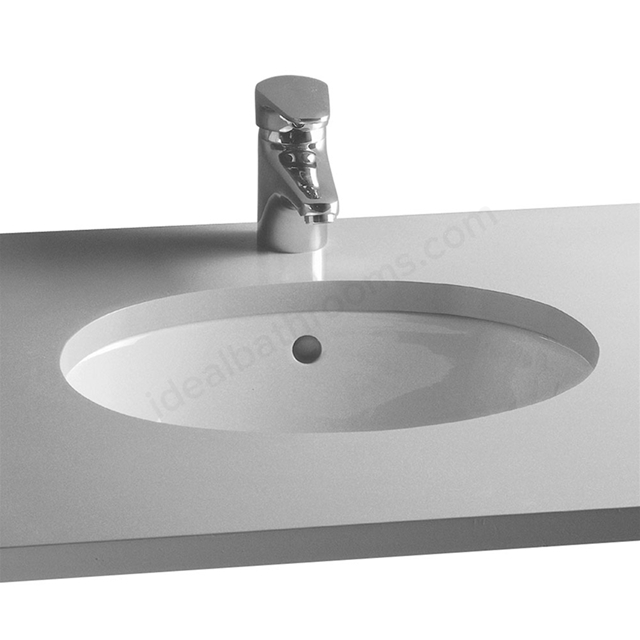 Vitra S20 570mm Washbasin 0 Tap Holes