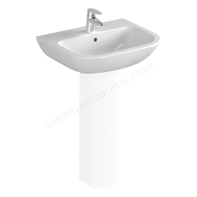 Vitra S20 550mm Washbasin 1 Tap Hole
