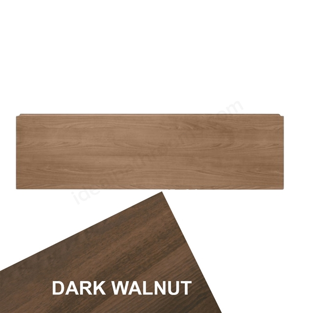 Ideal Standard CONCEPT Front Bath Panel For Standard Height Baths, 1500mm, Dark Walnut