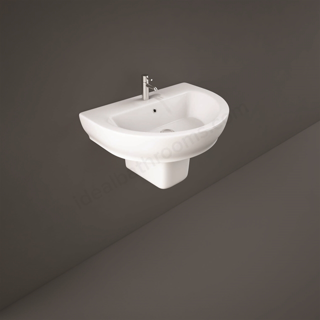 RAK Ceramics Moon Half Pedestal for 65cm and 80cm Basin
