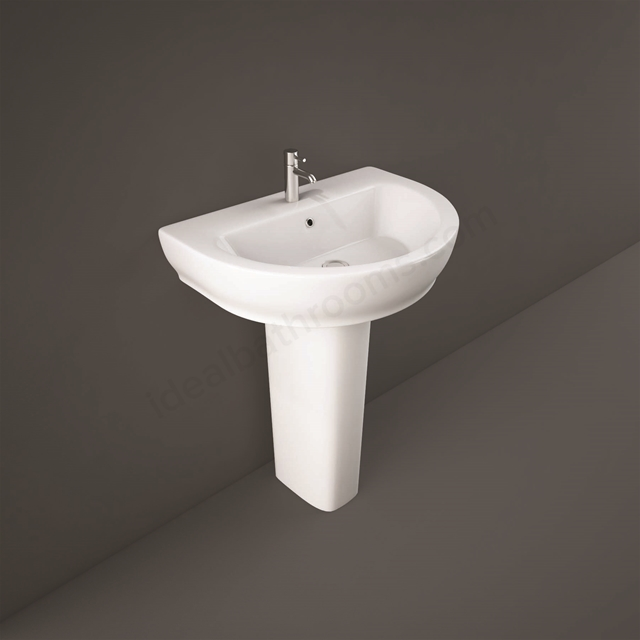 RAK Ceramics Moon Full Pedestal for 65cm and 80cm Basin