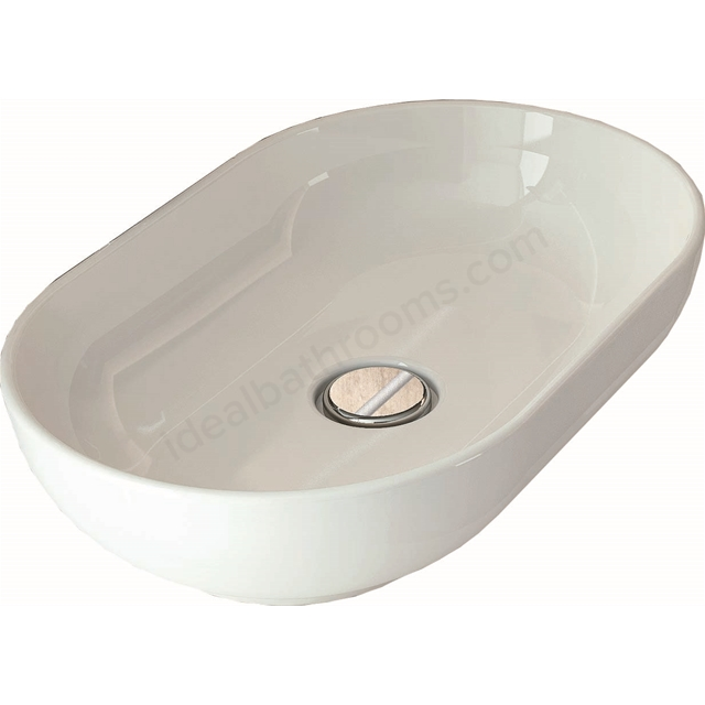 RAK Ceramics moon oval table top wash basin