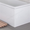 Vitra FLAT Bath Front Bath Panel, 1500mm Long, White