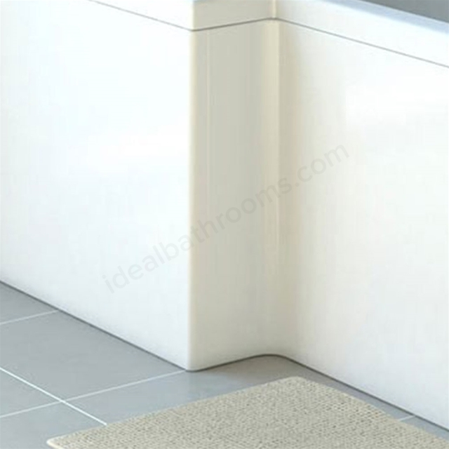 Vitra NEON Shower Bath Front Bath Panel; 1700mm Long; White