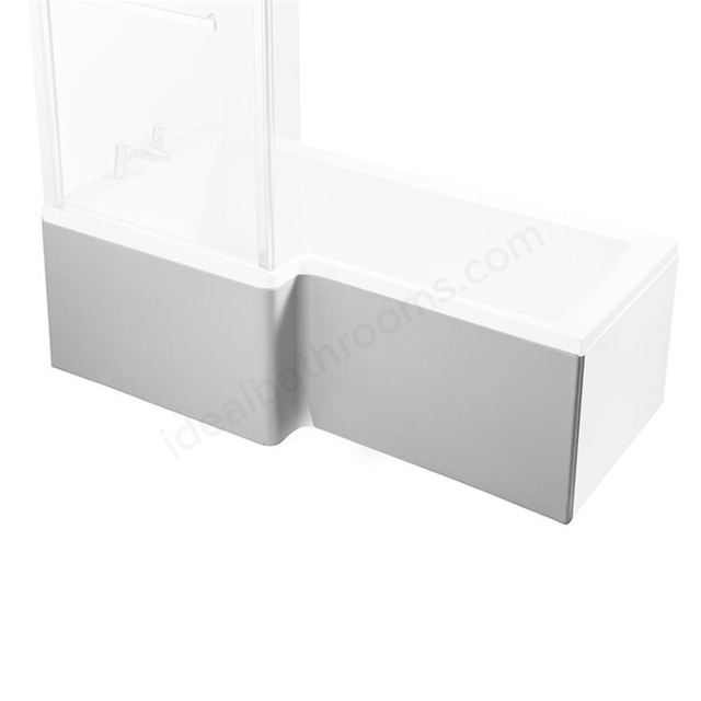 Ideal Standard CONCEPT Square Shower Bath Front Bath Panel; 1700mm; White