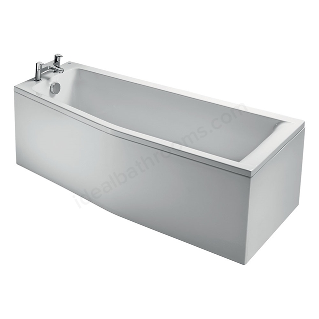 Ideal Standard CONCEPT Spacemaker Front Bath Panel; 1700mm; White