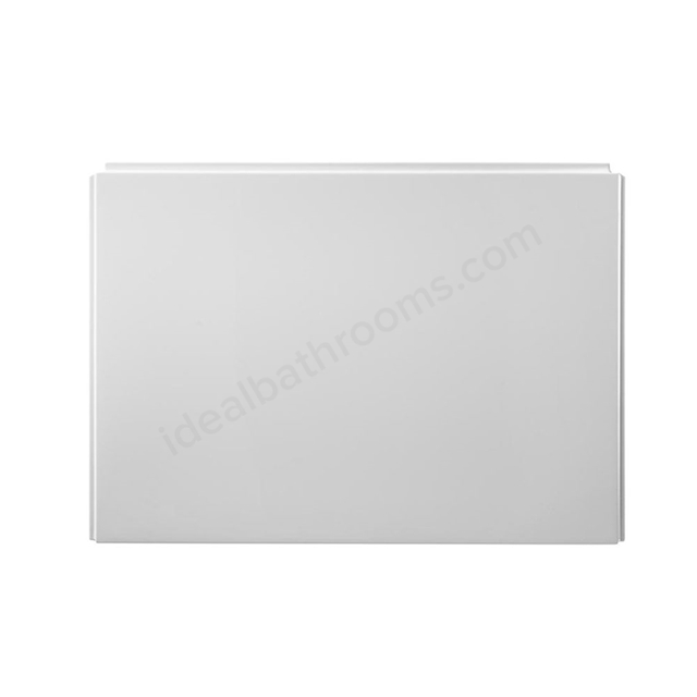 Ideal Standard TEMPO Cube End Bath Panel; 800mm White