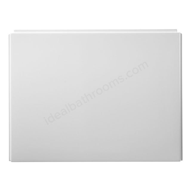 Ideal Standard UNILUX End Bath Panel; (Edge/Square/Drift/Washpoint); 800mm; White