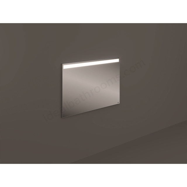 RAK Ceramics Wall Hung Mirror 100x68cm LED Light&Dem.