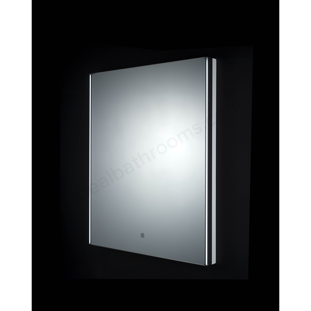 RAK Ceramics Resort LED Mirror with Demister Pad and Shaver Socket (H)700x(W)550mm
