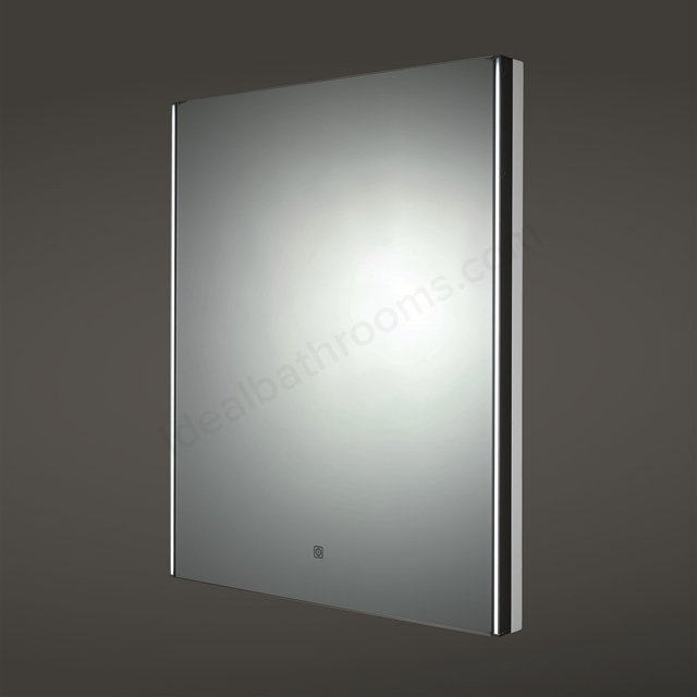 RAK Ceramics Resort LED Mirror with Demister Pad and Shaver Socket (H)800x(W)650mm