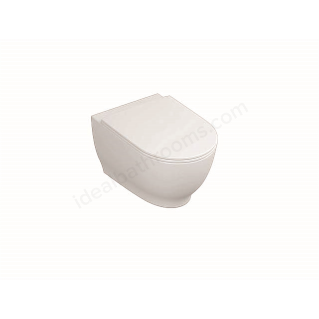 RAK Ceramics Moon Wall Hung Pan with Soft Close Seat (Urea)