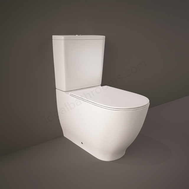 RAK Ceramics Moon rimless BTW WC Pack with Soft  Close Seat (Urea)