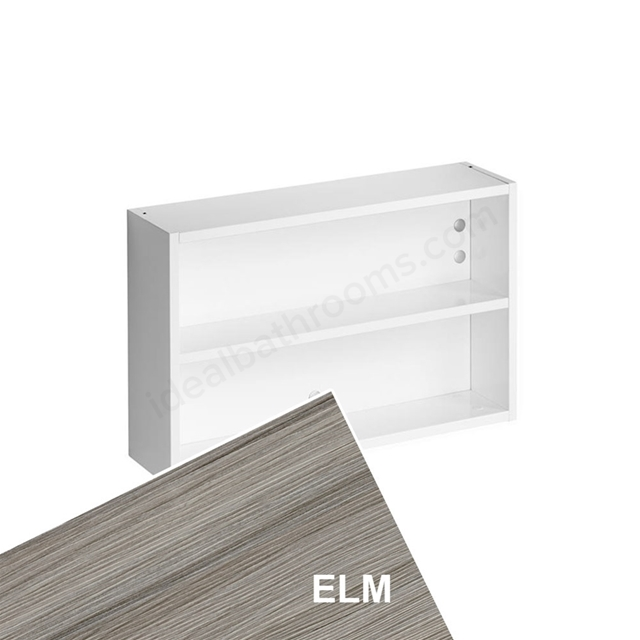 Ideal Standard Concept Space 500Mm Fill In Shelf Unit - Elm