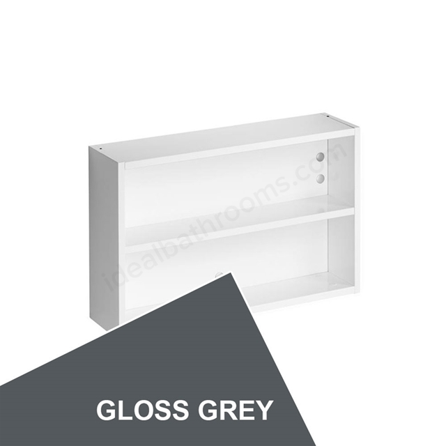 Ideal Standard Concept Space 500Mm Fill In Shelf Unit - Grey