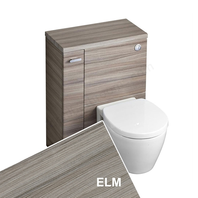 Ideal Standard CONCEPT SPACE Wc Unit with Left Handed Storage Cupboard; 600x300mm; Elm