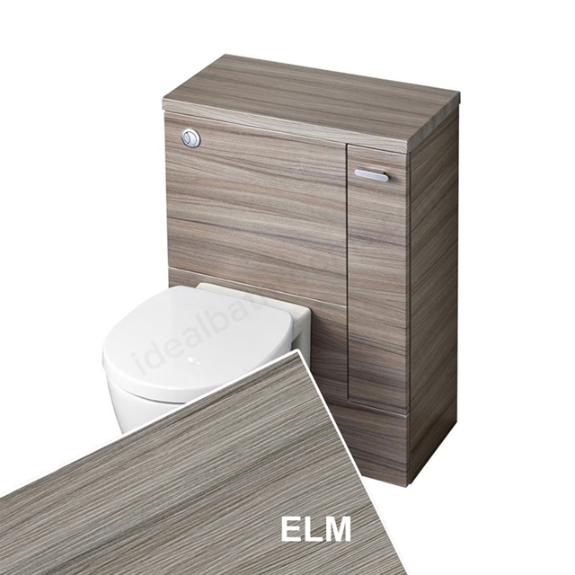 Ideal Standard Concept Space 600 X 300Mm Wc Unit With Right Hand Storage Cupboard - Elm