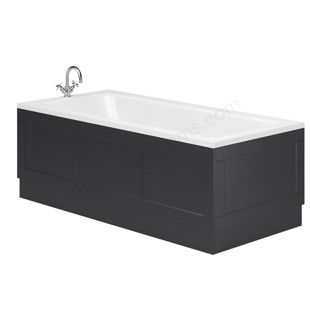 Essential Maine 1700 Front Bath Panel Graphite Grey