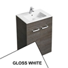 Ideal Standard TEMPO Floor Standing Vanity Unit, 600x440mm, Gloss White