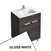 Ideal Standard TEMPO Vanity Unit, 600x440mm, 2 Door, Gloss White
